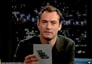 Buzz : quand Jude Law récite du Lady GaGa dans le texte…