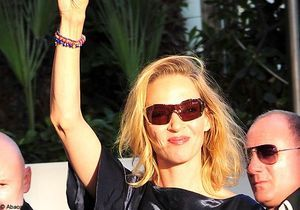 Cannes 2011 : Uma Thurman a posé ses valises au Martinez