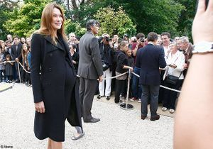 Carla Bruni : accouchement imminent !