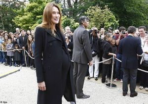 Carla Bruni impatiente d'accoucher