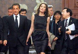 Carla Bruni : la fanfare chinoise joue 2 de ses morceaux !