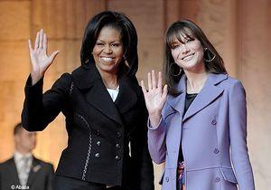 Carla Bruni-Sarkozy et Michelle Obama : deux femmes, un style ?