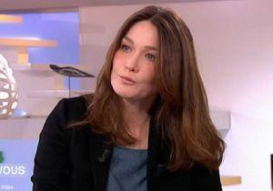Carla Bruni-Sarkozy pense avoir évité «la boulette magistrale»