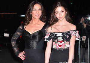 Catherine Zeta-Jones présente sa fille Carys, son sosie parfait !
