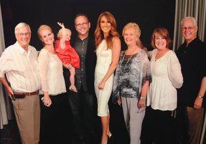 Céline Dion rencontre le fan qui l'a parodiée dans un aéroport