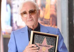 Charles Aznavour : son étoile brille désormais sur Hollywood Boulevard