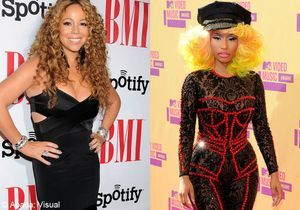 Clash entre Mariah Carey et Nicki Minaj sur le plateau d' « American Idol »