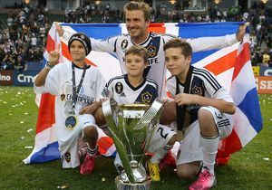 Cruz Beckham, future star du football