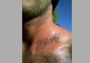 David Beckham arbore un nouveau tatouage