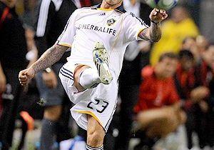 David Beckham hué par ses fans