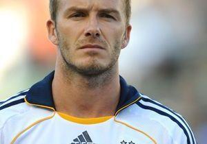 "David Beckham : ""Ne touche pas à ma femme !"""