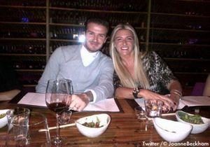 David Beckham organise l'anniversaire surprise de sa sœur