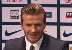 David Beckham s'installe à Paris... sans Victoria !