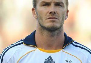 David Beckham, trop agressif sur le terrain