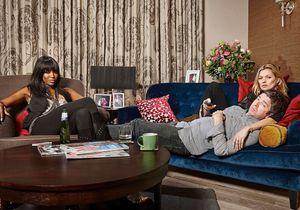 Découvrez Kate Moss et Naomi Campbell devant leur télé