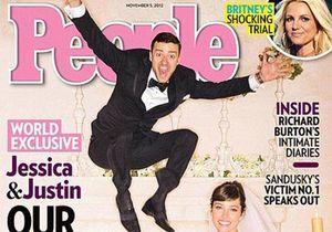 Découvrez la photo de mariage de Justin Timberlake et Jessica Biel!