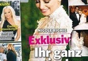 Découvrez la robe de mariée de Nicole Richie