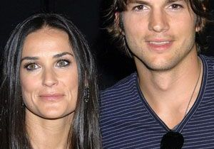 Demi Moore et Ashton Kutcher : à Londres pour encourager Susan Boyle