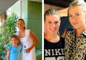 Eugenie Bouchard et Maria Sharapova, la photo qui buzze