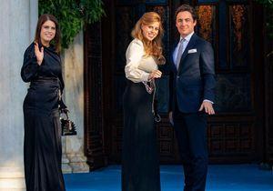Eugenie et Beatrice d'York, duo chic au mariage du prince Philippos de Grèce et Nina Flohr