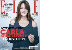 Exclusif : Carla Bruni, son interview-vérité dans ELLE !