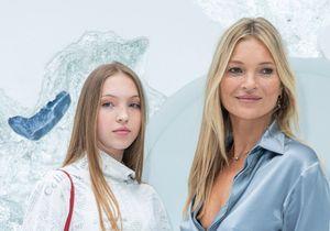 Fashion Week : Kate Moss et sa fille Lila Grace, stars du défilé Dior Homme
