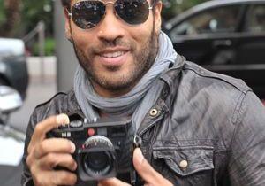 Festival de Cannes : Lenny Kravitz joue au paparazzi