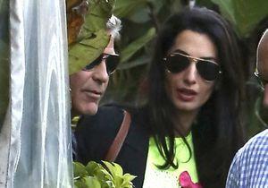 George Clooney et Amal Alamuddin fêtent leurs fiançailles