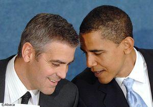 George Clooney récolte de l'argent pour Obama