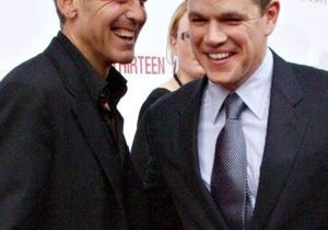 George Clooney repart en campagne pour Matt Damon !