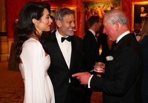 George Clooney : une soirée à Buckingham Palace avec le prince Charles