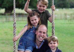 George et Charlotte : leur apparition avec le prince William pour la fête des pères