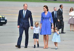 George et Charlotte volent la vedette à Will et Kate en voyage officiel en Pologne !