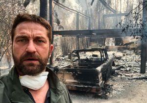 Gerard Butler et Miley Cyrus : leurs maisons détruites par les flammes à Malibu