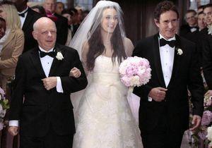 Leighton Meester : une robe de mariée blanche ou bleue pour la Gossip Girl ?