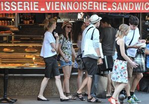 Gossip Girl : Leighton Meester, une touriste pas ordinaire