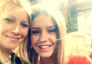 Gwyneth Paltrow et Adèle Exarchopoulos: un selfie à la Fashion Week de New York