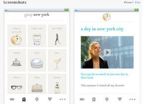 Gwyneth Paltrow lance son appli pour iPhone
