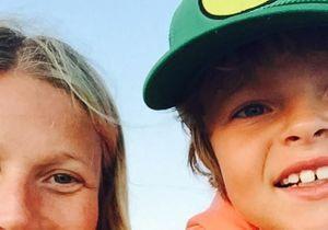 Gwyneth Paltrow publie une première photo de son fils Moses