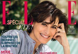 Ines de la Fressange en couverture de ELLE cette semaine