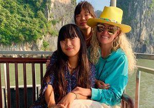 Jade et Joy Hallyday au Vietnam : le bonheur retrouvé avec leur mère