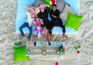 Jamel Debbouze et Mélissa Theuriau : les photos de leurs vacances avec leurs enfants, Léon et Lila