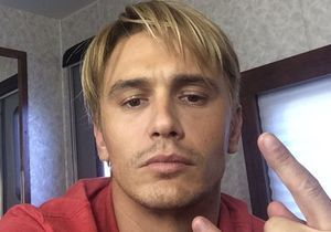 James Franco passe au blond peroxydé