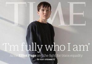 « Je suis pleinement qui je suis » : Elliot Page affirme sa transidentité en une du « Time »