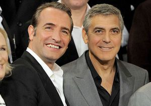 Jean Dujardin et George Clooney, les nouveaux meilleurs amis ?