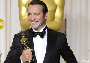 Jean Dujardin : « Il s'appelle Oscar, il pèse 2 kilos ! »