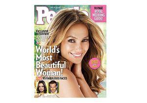 Jennifer Lopez élue plus belle femme de l'année 2011