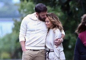 Jennifer Lopez et Ben Affleck : promenade en amoureux dans les Hamptons