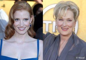Jessica Chastain, embarrassée face à Meryl Streep