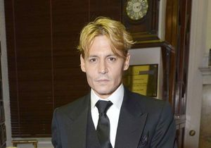 Johnny Depp passe au blond…